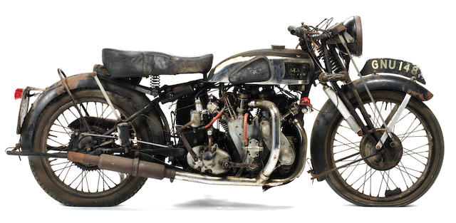 1939 Vincent-HRD 998cc Rapide Series-A Project Frame no. DV1699 Engine no. V1060