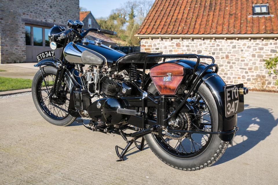 The ex-Henry Laird Demonstrator,1938 Brough Superior 982cc SS100  Frame no. M1/1936 Engine no. BS/X2 1039