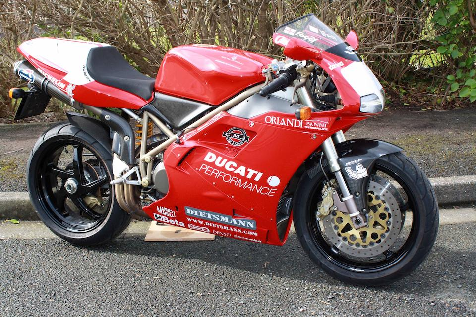 1999 Ducati 916 SPS Fogarty Replica Frame no. ZDMH100AAWB001623 Engine no. 001777