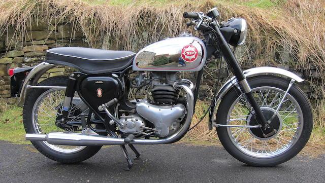 c.1955 BSA 646cc Rocket Gold Star Replica Frame no. CA7 8775 Engine no. CA10RR 3369