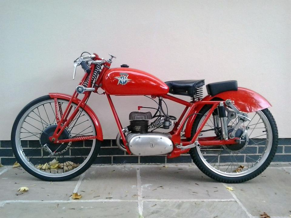 1949 MV Agusta 125cc 'Quattro Marce' Racing Motorcycle Frame no. to be advised Engine no. 16527-SS-2