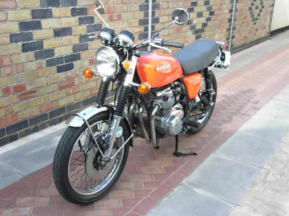 1976 Honda CB550F Frame no. CB550F-1021064 Engine no. CB550E-1131949