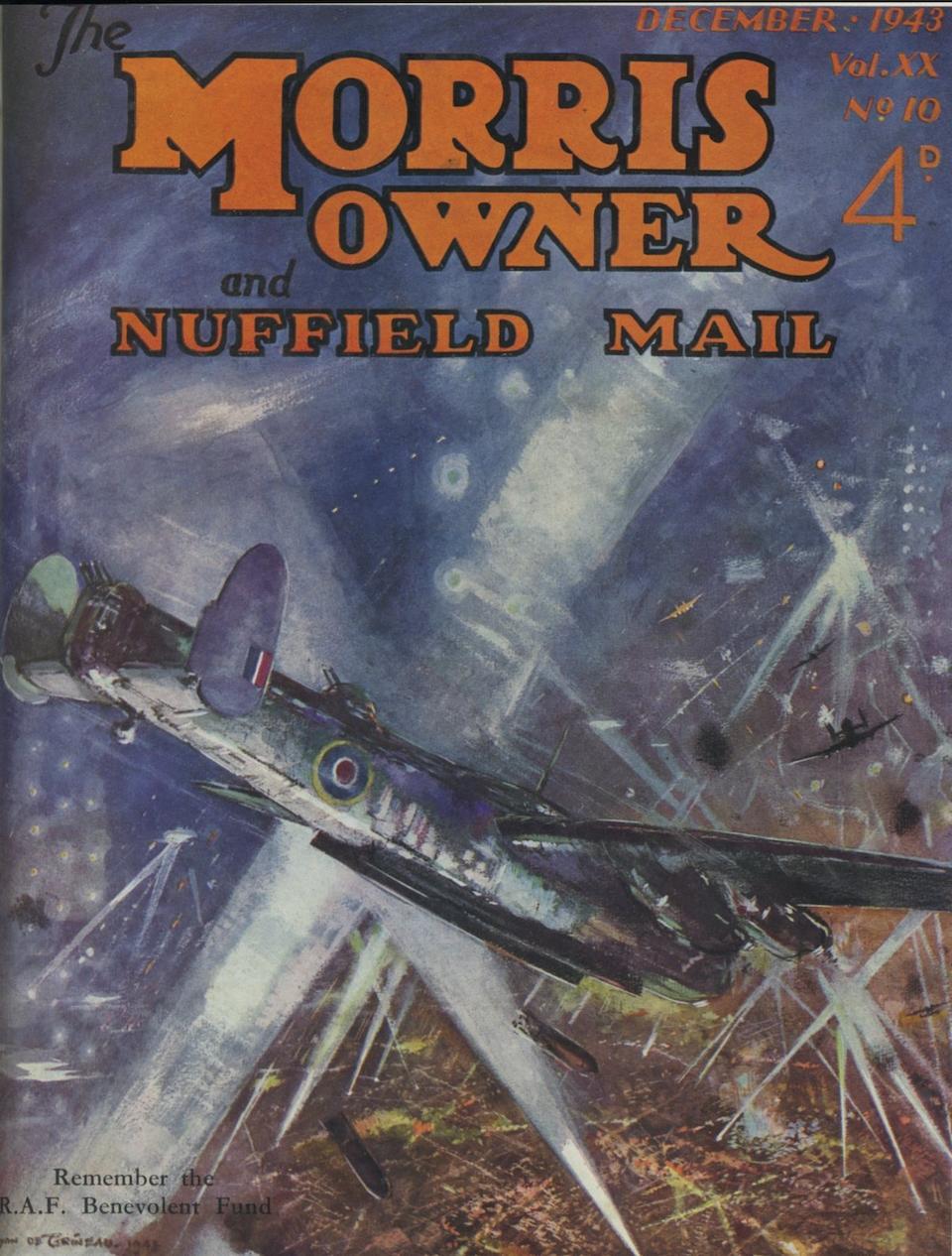 "Bryan de Grineau (1883-1957), ""Avro Lancaster - Bombs Away!"","