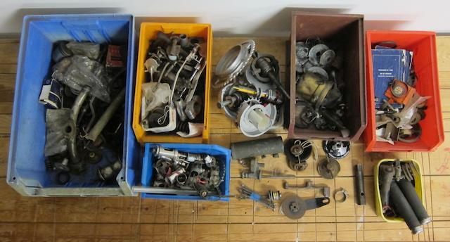 A quantity of spares,  ((Qty))