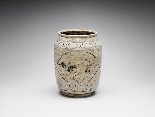 A Cizhou oviform jar Ming Dynasty
