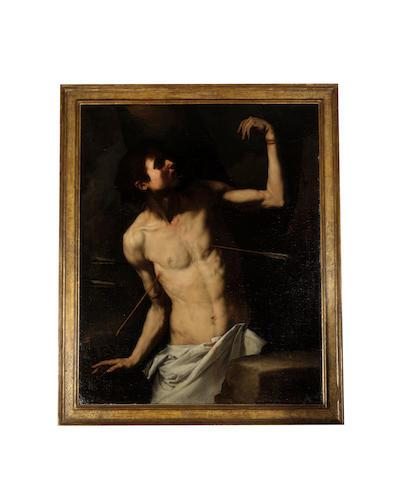 Jusepe de Ribera (Jativa 1588-1656 Naples) Saint Sebastian
