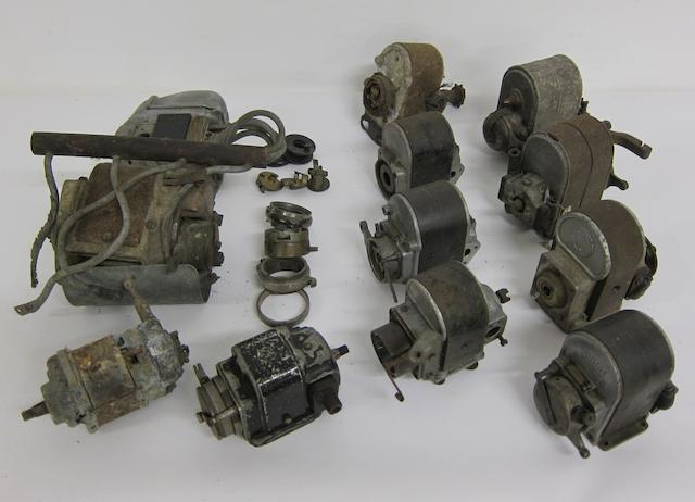 A selection of magnetos,  ((Qty))