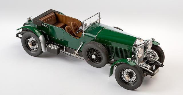 A fine 1:12 scale model of a 1930 Eight-Litre Bentley, by Fulgurex