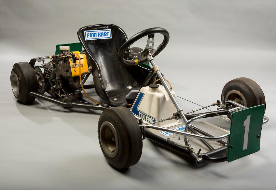 Ex-Mika Häkkinen, Ronnie Peterson Memorial Championship-winning,1982  Finnkart  85cc SF A1  Chassis no. 466