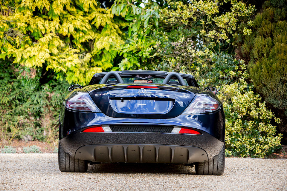 2008 Mercedes-Benz SLR McLaren Roadster  Chassis no. WDD1994761M001821