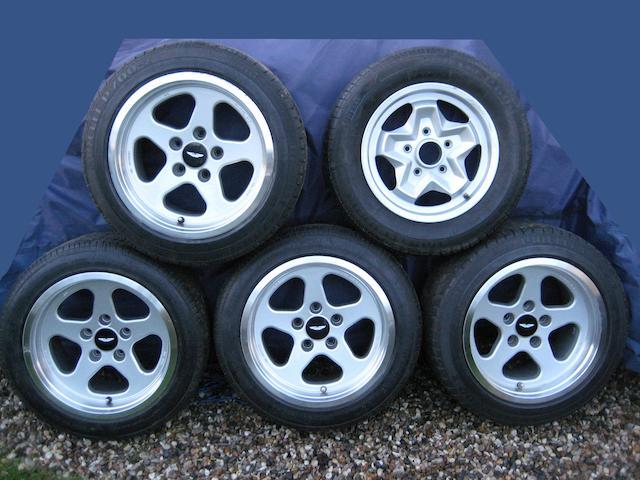 A set of four Ruf Speedline 17 inch alloy wheels to fit Aston Martin V8,  ((5))