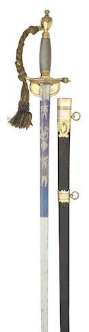 A 1796 Pattern Infantry Officer's Sword