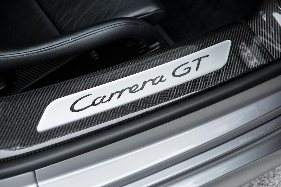 2006 Porsche Carrera GT Roadster  Chassis no. WPOZZZ98Z6L000110 Engine no. 90630639