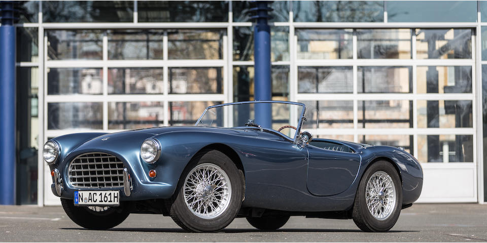 Ex-Jean Claude Bajol ,1957 AC Ace Bristol Roadster  Chassis no. BEX 281 Engine no. 100D 528