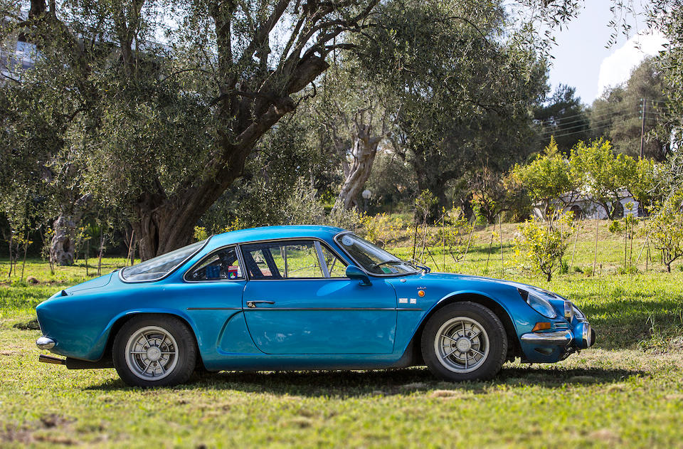 1971   Alpine A110 1600S Coupé  Chassis no. 17379 Engine no. 10820