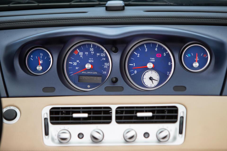 2003 BMW Z8 Alpina V8 Roadster  Chassis no. WAPBA48003GF50075 Engine no. 16149