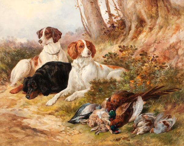 James Hardy Jnr. (British, 1832-1889) On Guard