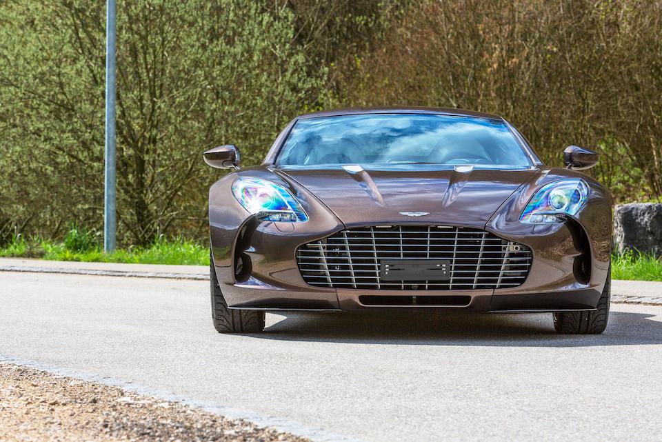 2011 Aston Martin One-77 Coupé  Chassis no. SCFGFXXX3BGS17725