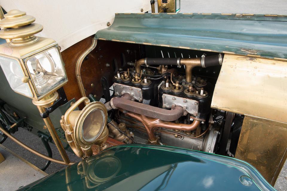 1906 Brasier 15hp Side-entrance Tonneau Car  Chassis no. 140