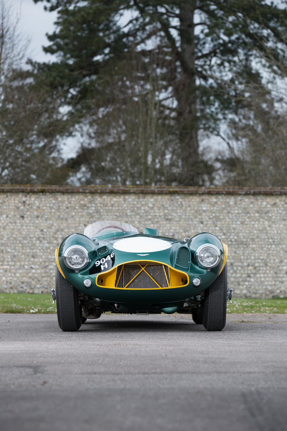 The Ex-Sir David Brown, Sir Stirling Moss, Peter Collins,  Tony Brooks, Roy Salvadori, Reg Parnell, Graham Hill,1953 Aston Martin DB3S Sports-Racing Two-Seater  Chassis no. DB3S/5