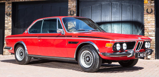 Bmw 3.0 Csl >> Bonhams 1972 Bmw 3 0 Csl Coupe Chassis No 2285033 Engine No 2285033