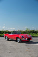 1961 Jaguar E-Type Series 1 'Flat Floor' 3.8-Litre Roadster  Chassis no. 850028 Engine no. R 9255-9