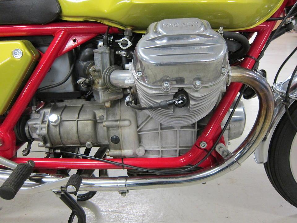 Genuine 'telaio rosso' model,1971 Moto Guzzi 749cc V7 Sport Frame no. VK11149 Engine no. VK30076