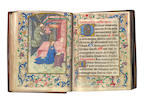 ILLUMINATED MANUSCRIPT BOOK OF HOURS, [Northern France or Flanders, early fifteenth century]