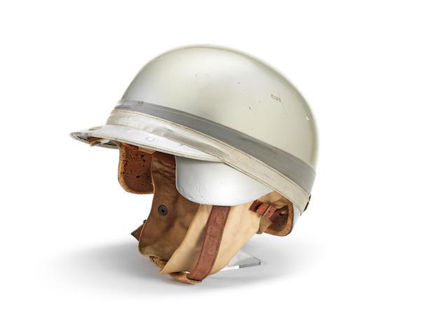 A Les Leston 'Grand Prix' crash helmet, circa 1958,