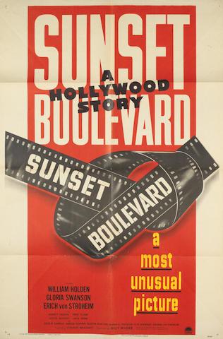 Sunset Boulevard, Paramount, 1950,