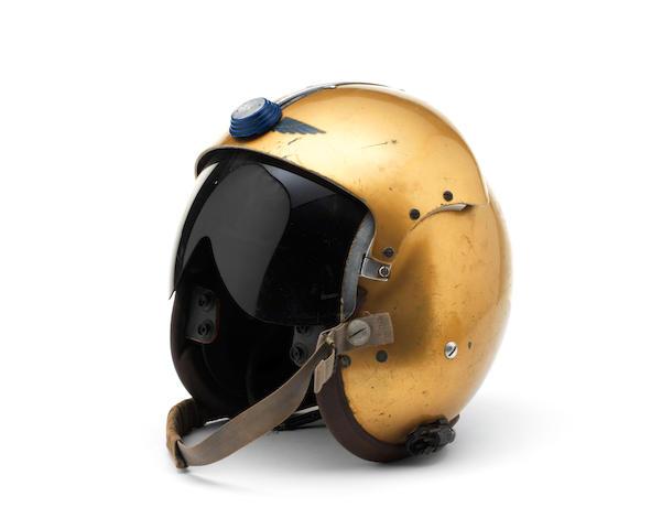 Donald Campbell's 'Bluebird' helmet, 1963-1964, ((8))