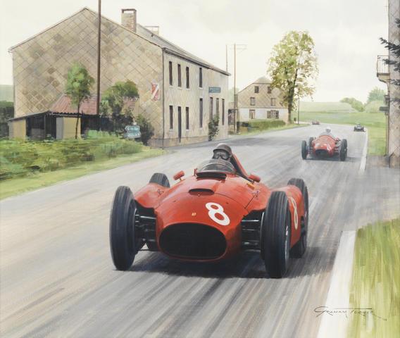 Graham Turner (British, 1964-), '1956 Belgian Grand Prix',