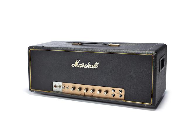 Gary Moore: A Marshall Model 1967 Major amplifier, circa 1968,
