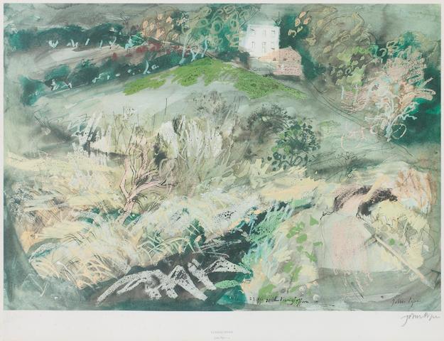 John Piper C.H. (British, 1903-1992) Llangloffan