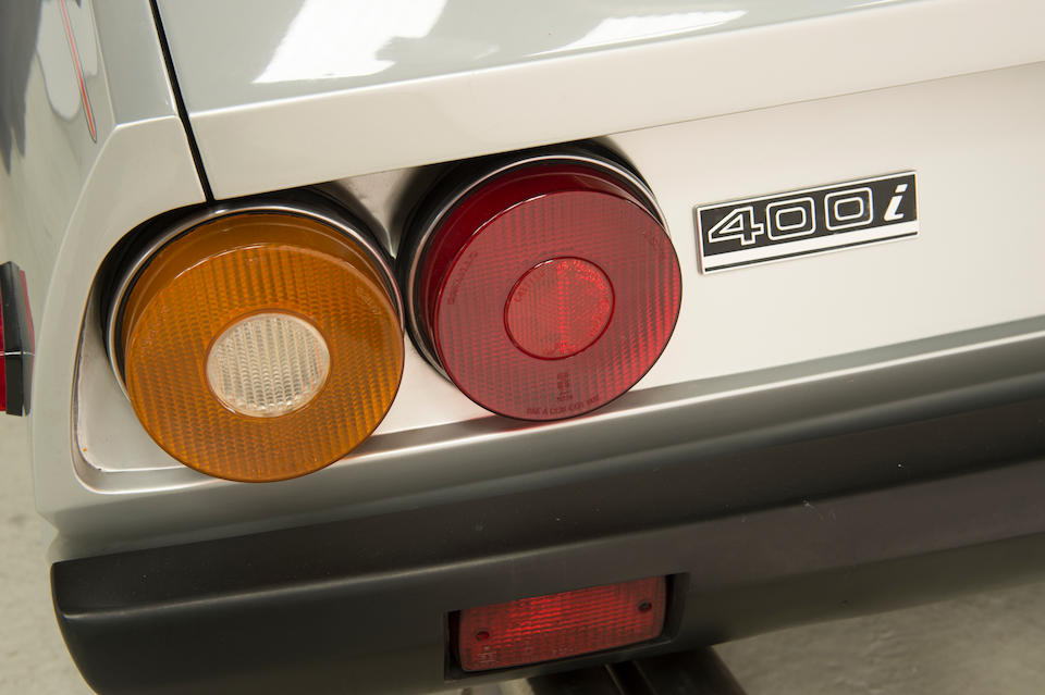 1984 Ferrari 400i GT Coupé  Chassis no. ZFFEB7S000050811 Engine no. to be advised
