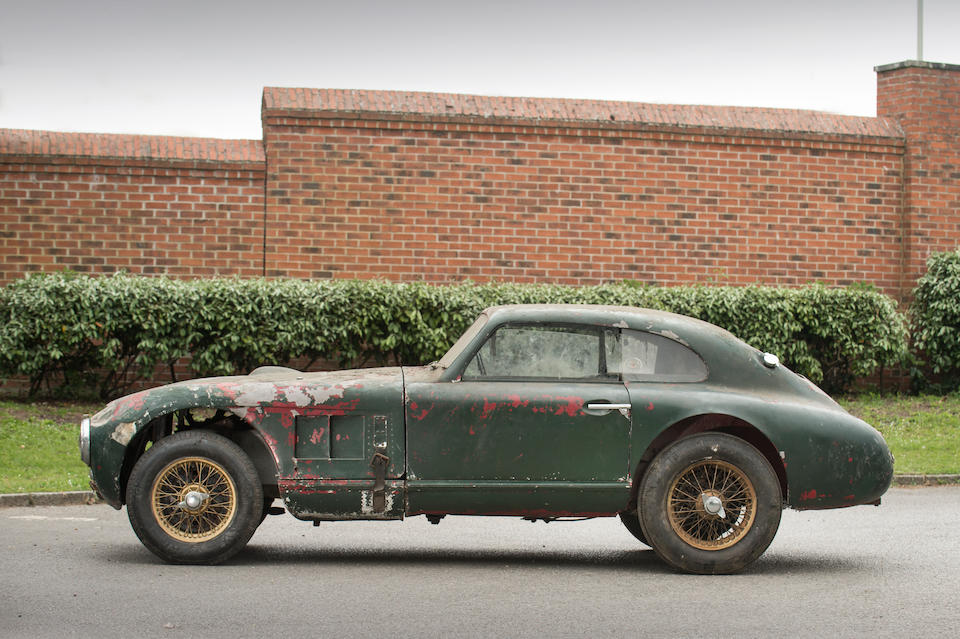 The Ex-Aston Martin works team, Le Mans 24-Hours, Spa 24-Hours Ex-Lance Macklin, Nick Haines, Arthur Jones, current family ownership since 1965,1949 Aston Martin DB Team Car  Chassis no. LMA/2/49
