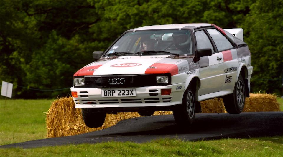 The ex-John Buffum, Hannu Mikola, David Sutton Motorsport Audi Rally Team,1981 Audi Quattro 2.2-Litre Rally Car  Chassis no. 85CA900146