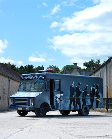 Banksy (British, born 1975) SWAT Van 2006
