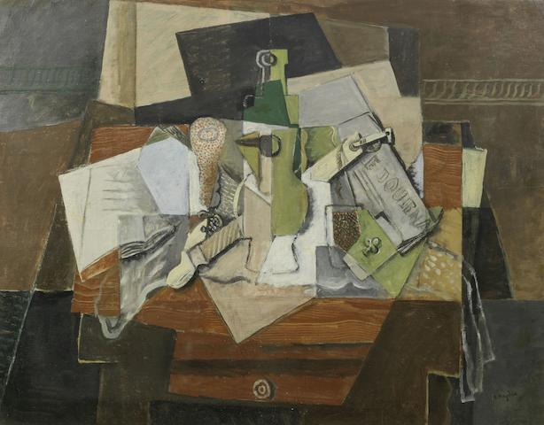 Henri Hayden (French, 1883-1970) Nature morte (Painted circa 1919)
