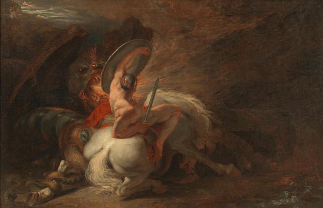 Benjamin Robert Haydon (Plymouth 1786-1846 London) Perseus and Andromeda