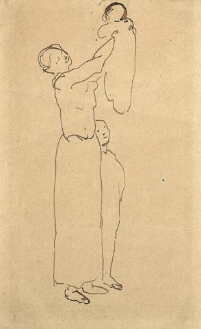 Pablo Picasso (1881-1973) Maternité (Executed in 1905)