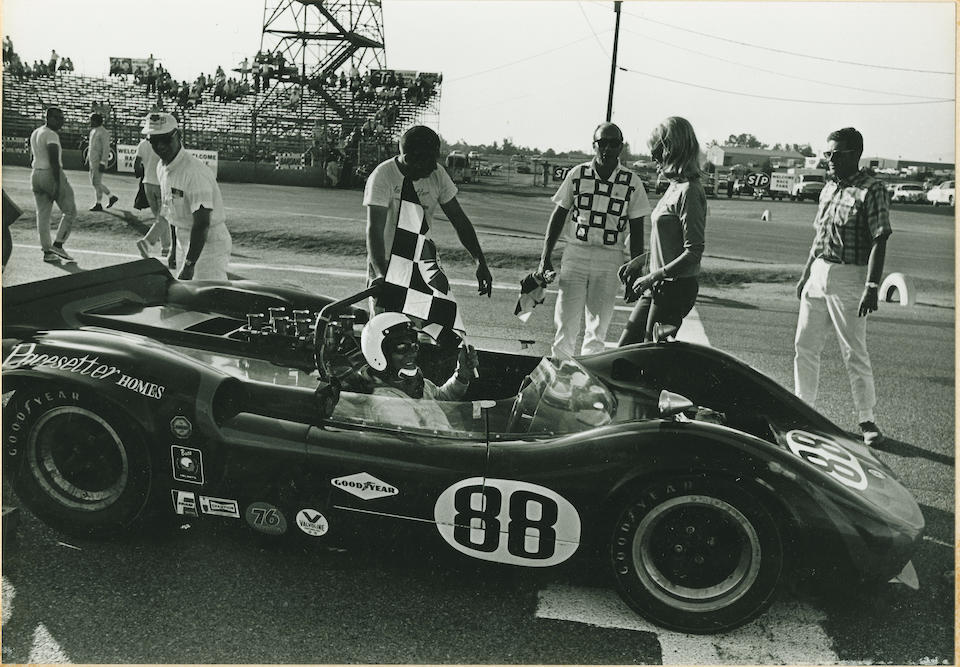 The ex-Masten Gregory 'Pacesetter Homes',1966 Mclaren-Chevrolet M1B Group 7 sports-racing roadster  Chassis no. 30/19