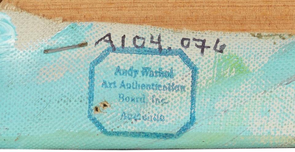 Andy Warhol (American, 1928-1987) Mao 1973