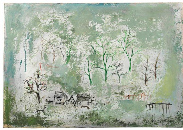 Zao Wou-Ki (Chinese/French, 1921-2013) Untitled 1949