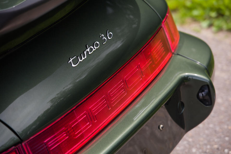 Porsche 911 Turbo 3,6 litres (type 964) coupé 1993  Chassis no. WP0ZZZ96ZPS470430 Engine no. 61P05043
