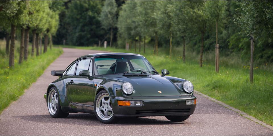 Porsche 911 Turbo 3,6 litres (type 964) coupé 1993  Chassis no. WP0ZZZ96ZPS470430 Engine no. 61P05043