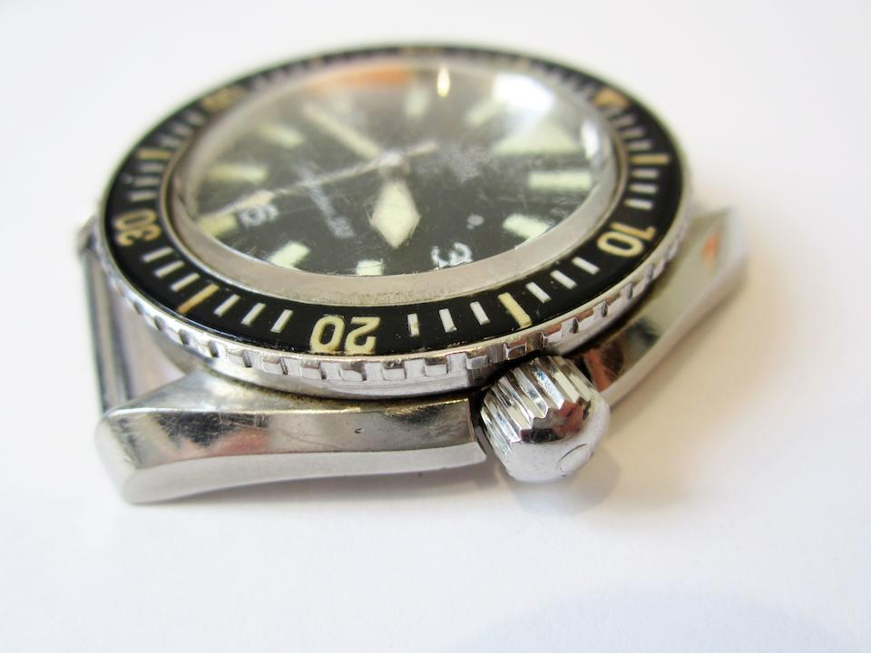 Omega. A stainless steel automatic military issue wristwatch Seamaster 300, Ref:165.024, Movement No.24725274, Circa 1965