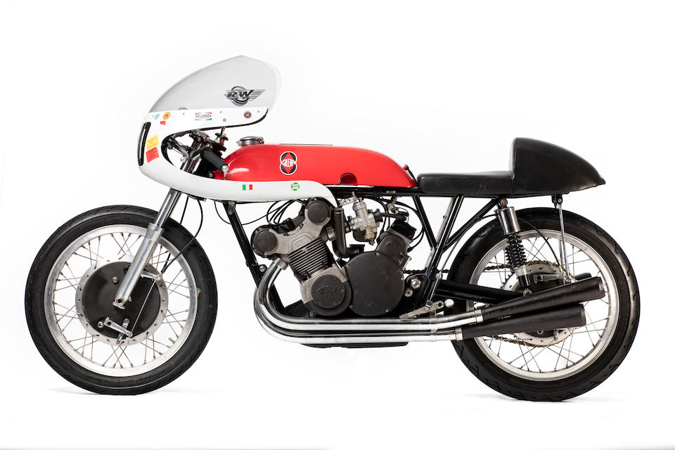 Gilera 500cc Grand Prix Racing Motorcycle Re-creation by Kay Engineering Frame no. 508 Engine no. 508