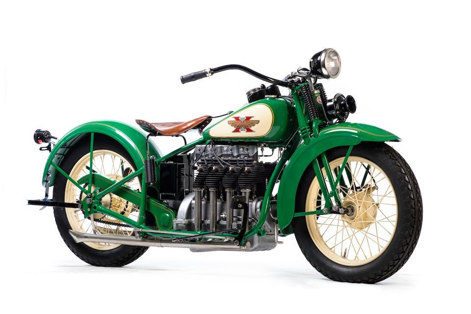 1929 Henderson Streamline KJ Four Frame no. 3704 Engine no. KJ34264