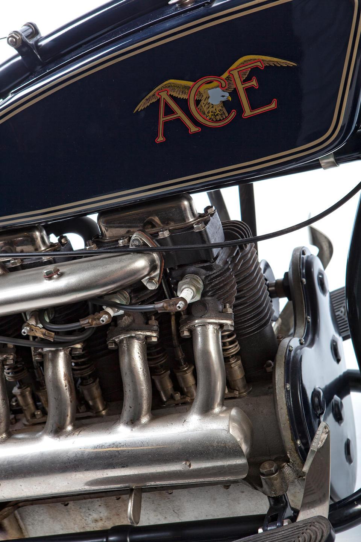 1920 Ace 1,220cc Four Frame no. None visible Engine no. A1073